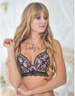 Купить Cosmopoliten черный лиф без косточек в интернет-магазине нижнего белья Lady's Lace.