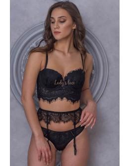 Купить Черный комплект  25937000 в интернет-магазине нижнего белья Lady's Lace.