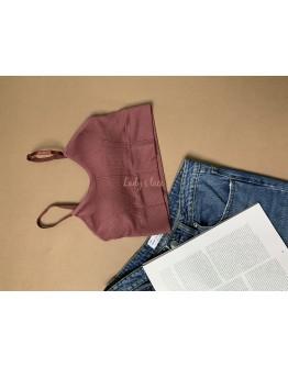 Купить Топ Ingrid Бордо в интернет-магазине нижнего белья Lady's Lace.