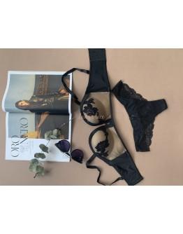 Купить Khloe Черный в интернет-магазине нижнего белья Lady's Lace.